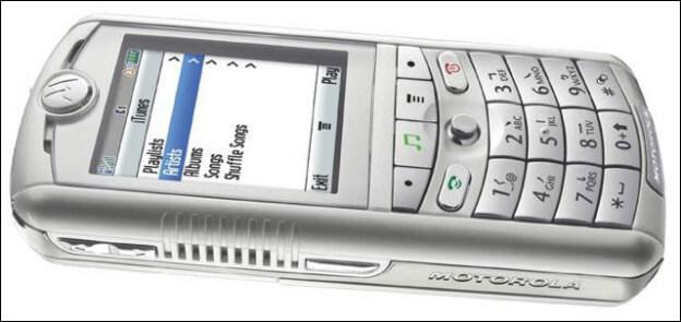 Apple & Motorola launch a ROKR E1 phone