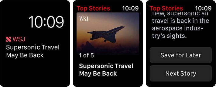 Apple News Apple Watch App Screenshot
