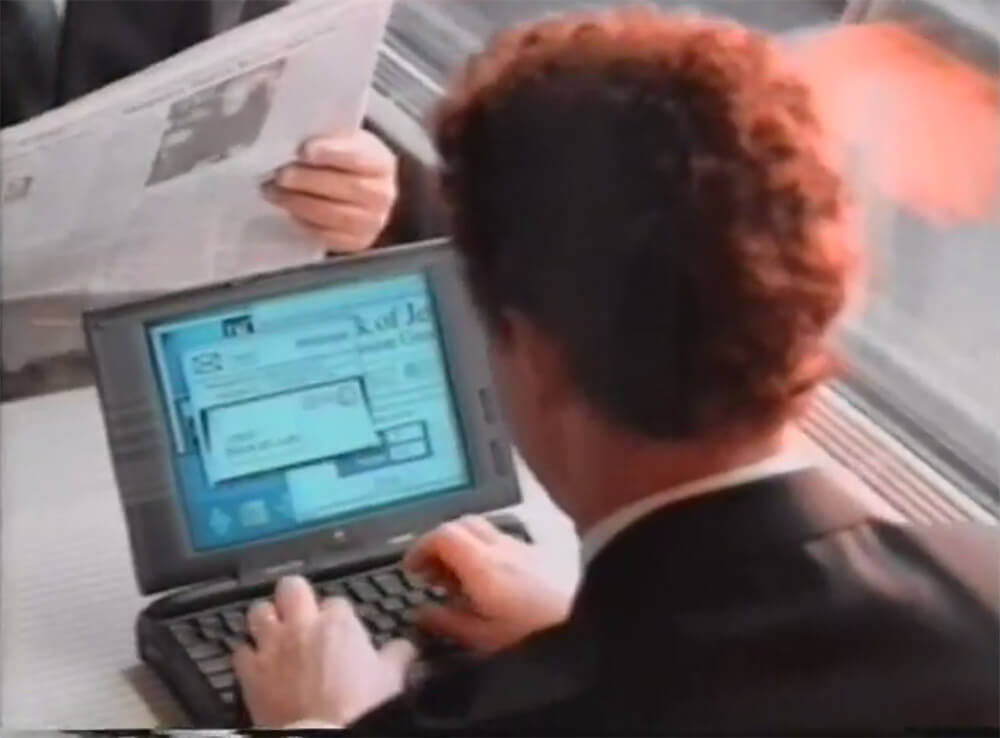 Apple PowerBook in Mission Impossible