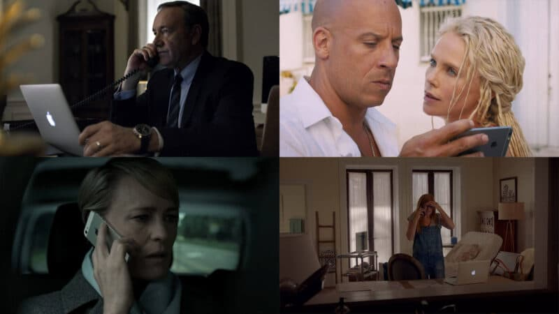 Apple Product Placement in Movies, TV, and Web Series