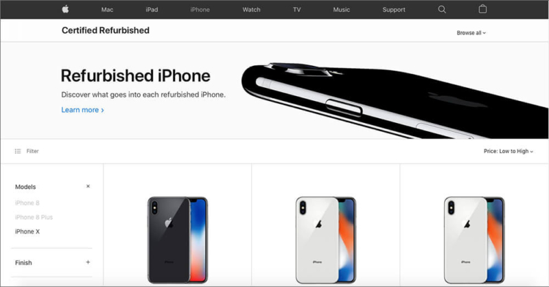 Apple Refurbished Store is best Place to buy used iPhone