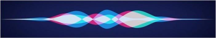 Apple Siri wave design