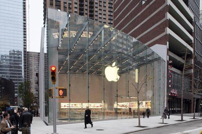 Apple Store at Upper West Side NYC