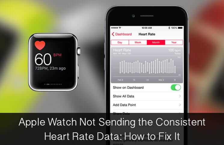 Apple Watch Not Sending Consistent Heart Rate Data