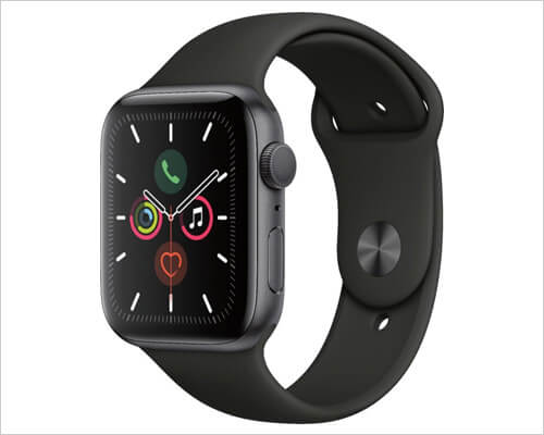 Apple Watch Series 5 with GPS and Aluminum Case