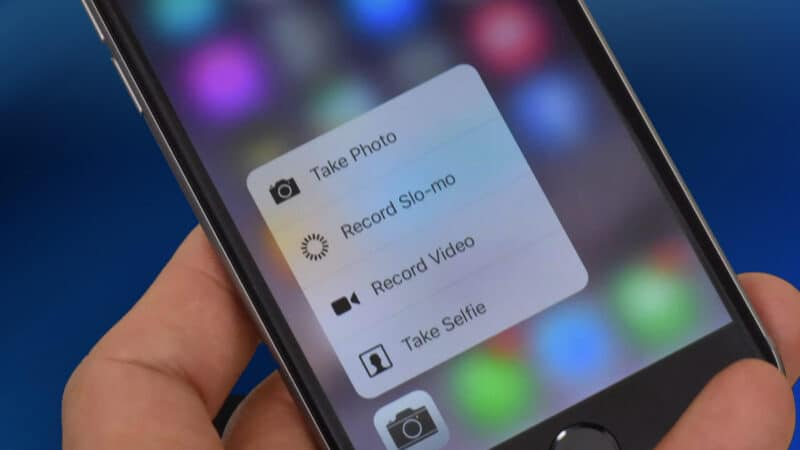 Apple Will Kill 3D Touch Feature from Its Future iPhones