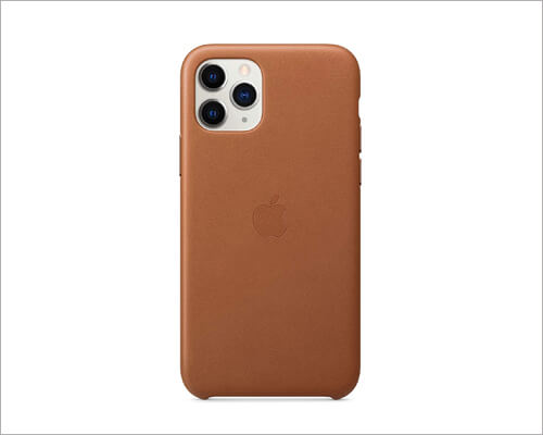 Apple Wireless Charging Leather Case for iPhone 11