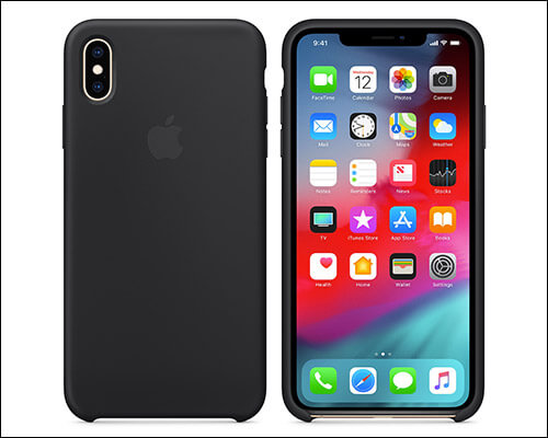 Apple Wireless Charging Support Case for iPhone Xs Max