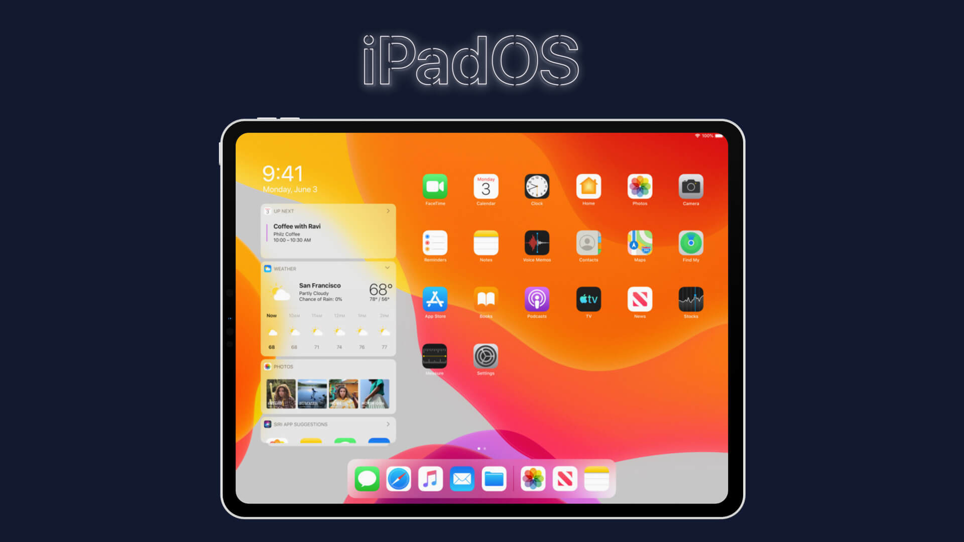 Apple iPadOS 13 Features