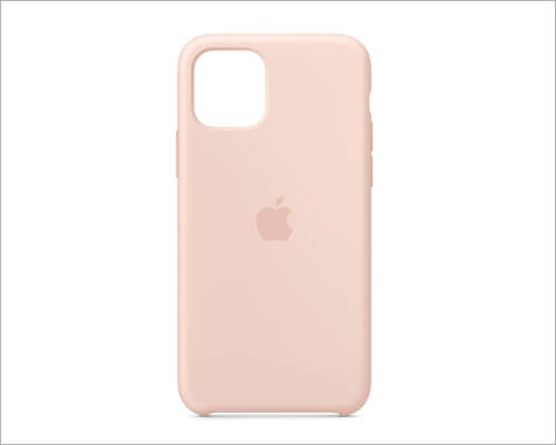 Apple iPhone 11 Pro Pink Sand Silicone Case