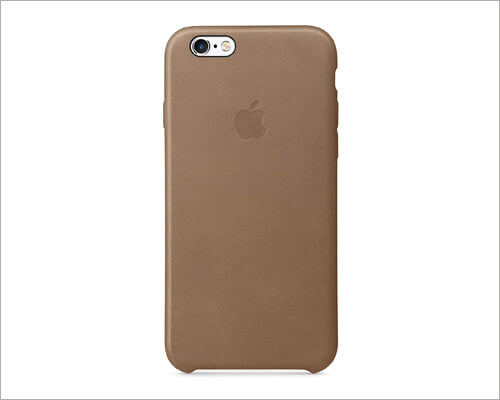 Apple iPhone 6 6s Leather Brown Case