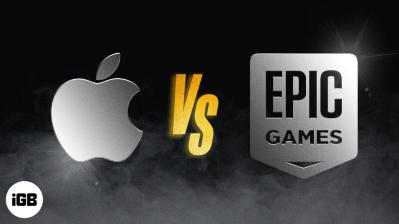 Apple vs Epic Games lawsuit