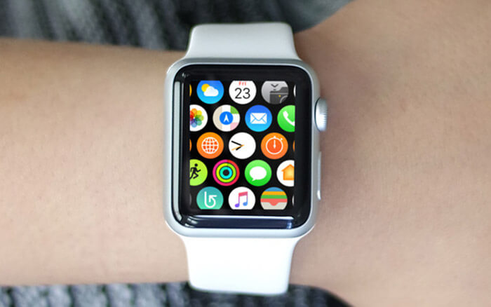 Apply Force Touch on Apple Watch Home Screen