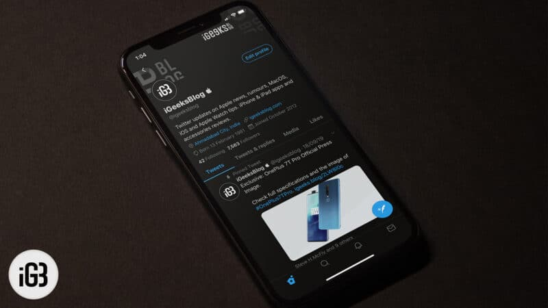 Apps that Support Dark Mode in iOS 13 on iPhone