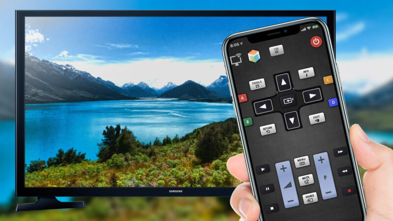 Apps to Use iPhone as TV Remote
