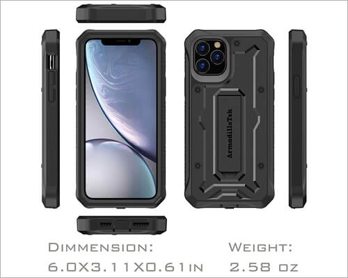 ArmadilloTek Military Grade Case for iPhone 11 Pro