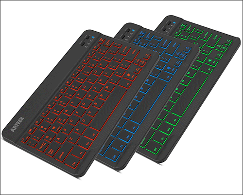 Arteck HB030B Wireless Bluetooth Keyboard for iPhone 7 and 7 Plus