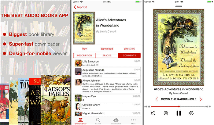 Audiobooks 7000+ iPhone and App Screenshot