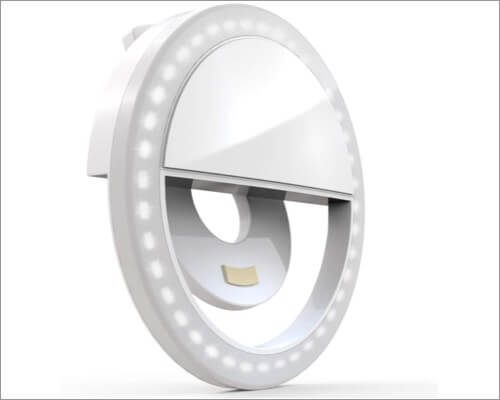 Auxiwa Clip-on Selfie Ring Light for iPhone
