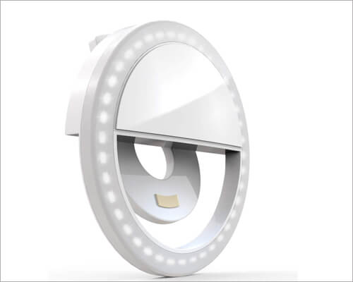 Auxiwa Selfie Ring Light for iPhone 11, 11 Pro and 11 Pro Max