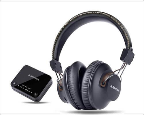 Avantree HT4189 Apple TV Wireless Headphones