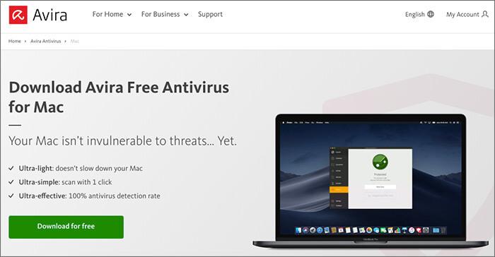 Avira Free Antivirus Software for Mac