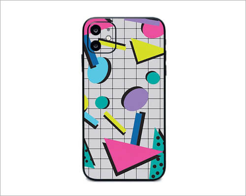 Awesome 80S iPhone 11 Skin Wrap