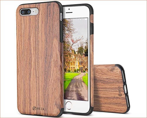 B BELK iPhone 8 Plus Wooden Case