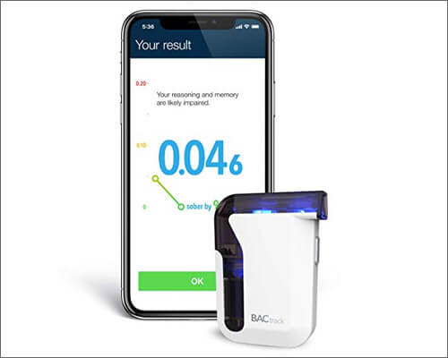 BACtrack Smartphone Breathalyzer for iPhone