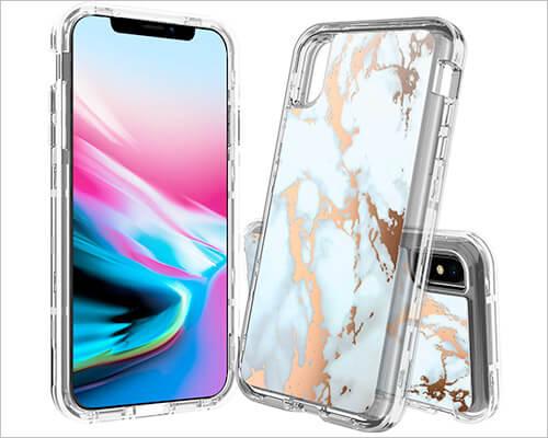 BAISRKE iPhone Xs Max Heavy-duty Case