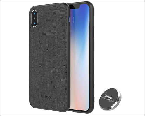 BB Face iPhone Xs Max Case with Magnetic Back
