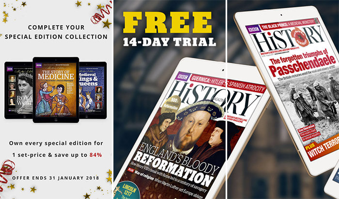 BBC History Magazine iPhone and iPad App Screenshot
