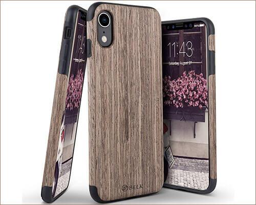 BELKA Wooden Case for iPhone XR