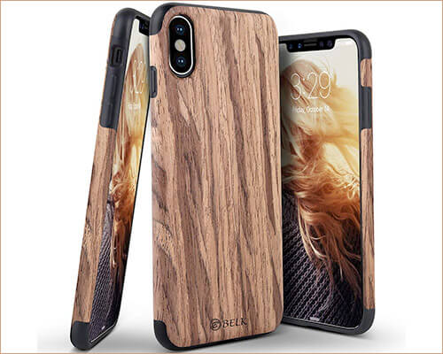 BELKA iPhone Xs Max Wooden Case