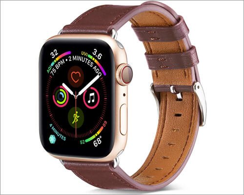 BELONGME Apple Watch Series 3Leather Strap Band