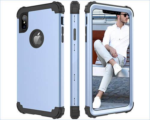 BENTOBEN Heavy Duty Case for iPhone Xs Max