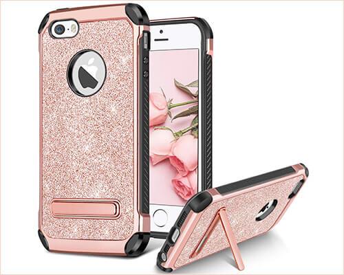 BENTOBEN Kickstand Case for iPhone SE