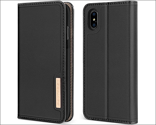 BENTOBEN Leather Case for iPhone XS Max