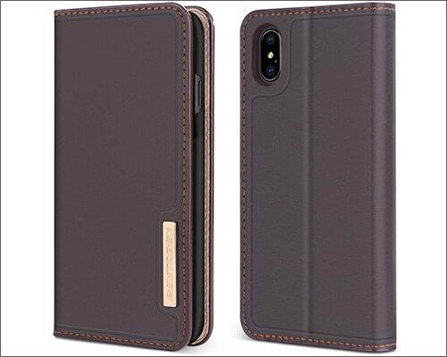 BENTOBEN iPhone Xs Max Wallet Case