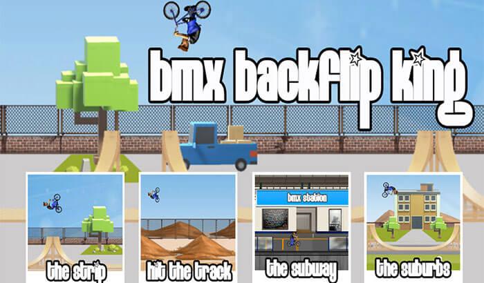 BMX Backflip King iPhone and iPad App Screenshot