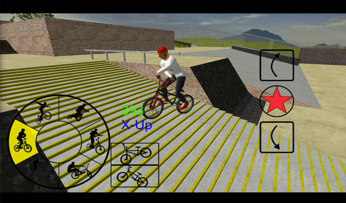 BMX Freestyle Extreme 3D iPhone and iPad Game Screenshot