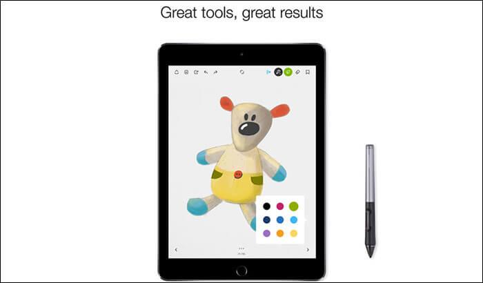 Bamboo Paper iPad Pro App Screenshot