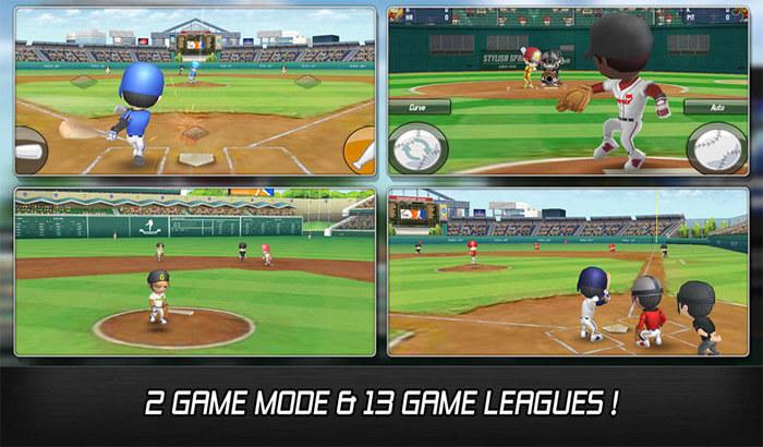 Baseball Star iPhone and iPad App Screenshot