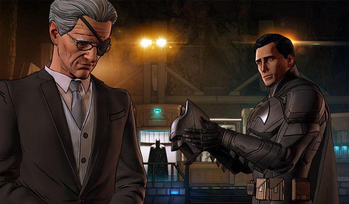 Batman iPhone and iPad Adventure Game Screenshot