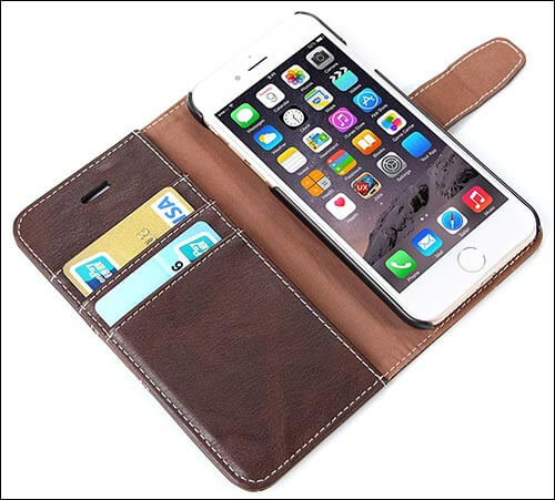 Bear Motion for iPhone 7 Wallet Case