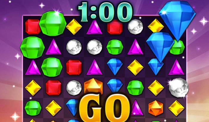 Bejeweled Blitz Puzzle iPhone and iPad Game Screenshot