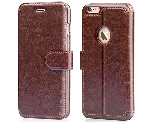 Belemay Folio Case for iPhone 6-6s Plus