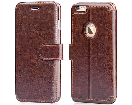 Belemay iPhone 6 Plus Handmade Leather Case