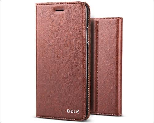 Belk iPhone 8 Plus Leather Case