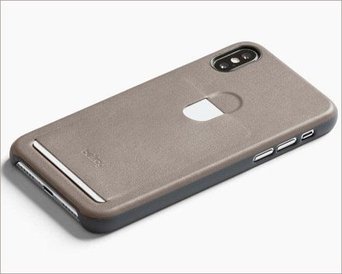 BellRoy iPhone X Slim Leather Case